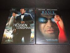 THE HESSEN CONSPIRACY & BLUE SEDUCTION-2 movies-BILLY ZANE, ESTELLA WARREN