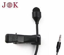 JK® MIC-J 044 Lavalier Lapel Clip On Omni-directional Condenser Microphone For