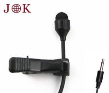JK® MIC-J 044 Lavalier Lapel Clip On Omni-directional Condenser Microphone For