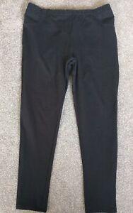 Ladies, Black Full Length Treggings From NEXT, Size 18.