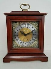 Howard Miller 75th Anniversary Edition Clock w/ Hidden Jewelry Box dr/mb