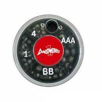 4 Way Split Shot Weights Non Toxic Leads AAA BB No1 No4 Coarse Fishing Mini size