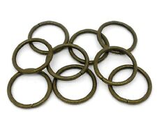 A Pack of 300 Antique Bronze  Plated Jump Rings  4 5 6 7 8 or 10mm  jr300ab