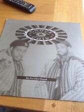 Chuck Chillout & Kool Chip - No Dj Like Chuck - 12 Inch Vinyl NM/VG+