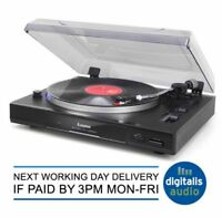 Steepletone Professional USB transfer to PC Belt Drive Turntable,Record Player