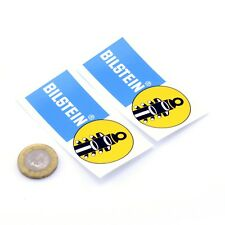 Bilstein Stickers Car Motorcycle Racing Vinyl Decals 75mm x2 Shocks Suspension