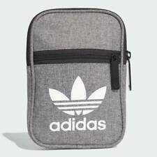 66d086a43fc2 New Mens adidas Grey Festival Polyester Cross Body Bag Bags