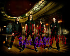 BULLET FOR MY VALENTINE BAND SIGNED AUTOGRAPHED 10X8 PP REPRO PHOTO PRINT