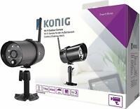 König HD Smart IP-Kamera aussen 720P SAS-CLALIPC20 für Funk Alarmanlage