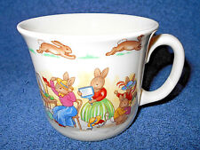 Royal Doulton Bunnykins English Fine Bone China Coffee Cup Mug - Nice