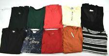 Wholesale Lot of 10 Women XL Long Sleeve Casual Business Blouses Sweatshirts