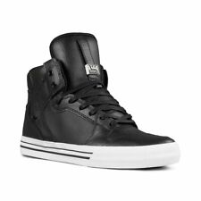 Supra Vaider High Top Shoes - Black / White