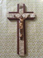 French 1930's Art Deco Wooden Cross-Great design