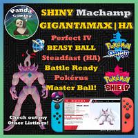 SHINY Gigantamax Grimmsnarl GMax HA✨Master Ball✨6IV Pokemon Sword Pokemon Shield