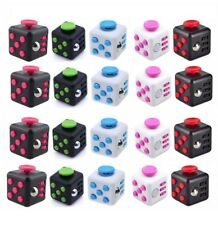 UK Fidget Cube Toy Children Desk Adults Stress Relief Cubes ADHD Ramdom Color