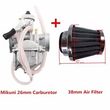 VM22 Mikuni 26mm Carburetor Air Filter 125cc 140cc 150cc Dirt Bike Go Kart QUAD