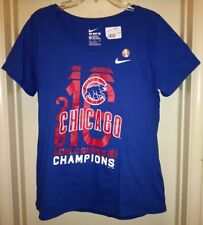 0d3acd82b44 MLB Chicago Cubs Nike 2016 World Series Champ Scoop T-shirt Womens XL Tee