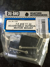 DU-BRO 7.5 and 11 cc Adjustable Outboard Motor Mount