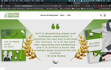golfingebooks.com Fully Automated Store on Shopify