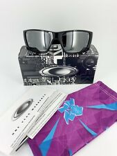 Oakley LOCOG Fuel Cell - Polarized Black w/ Black Iridium Sunglasses London 2012