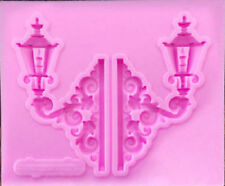 Old street lamp Silicone Mould, Mold, Cake Icing , Ocean Summer Holiday M9