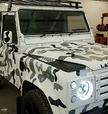 Land Rover Defender 130 Vehicle Camo Kit, Decals Stickers Vinyl Modified 4x4