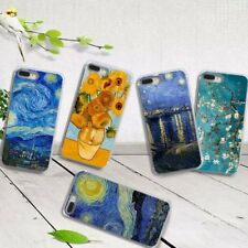 Van Gogh Oil Painting Print Phone Case Cover for iPhone X 7 8 6S Plus 6 Gracious