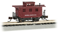 Escala N - Old-Time Madera Caboose Central Pacific 15752 Neu