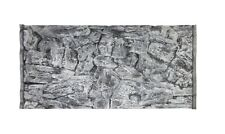 Mur arrière aquarium 120x60cm (117x54) ROCK 3D gris,2 pièces abg3112