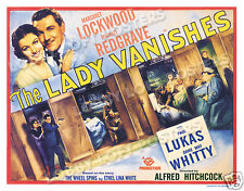 THE LADY VANISHES LOBBY TITLE CARD POSTER 1938 MARGARET LOCKWOOD HITCHCOCK