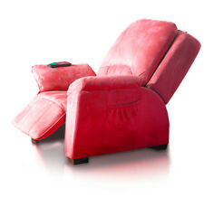 Massagesessel Rom rot Fernsehsessel Relaxsessel Lagerräumungsverkauf