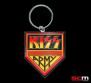KISS ARMY Metal Pendant Key Ring Official Licensed Merchandise GREAT GIFT IDEA!