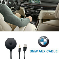 Car Bluetooth Audio Adapter USB 3.5mm AUX Music Adapter Cable for BMW AC926