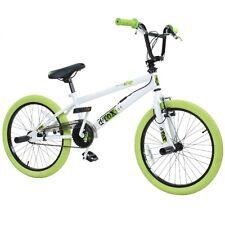 """20 POUCES BMX Vélo freestyle bicyclette d'ENFANTS ENFANT Detox 20 """" blanc / Vert"""