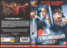 Phonebooth, Colin Farrell VHS Video Promo Sample Sleeve/Cover #9018