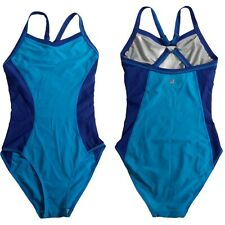 Sweaty Betty Blue Swimsuit One Piece Swimming Costume Small UK 10 Inner Support