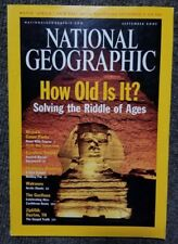 National Geographic Magazine September 2001 Riddle of Ages Egyptian Tombs Walrus