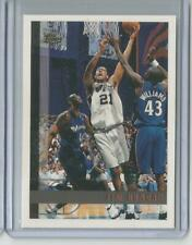 1997-98 TOPPS TIM DUNCAN ROOKIE RC #115 SAN ANTONIO SPURS