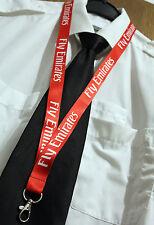 Lanyard Emirates Airlines Fly Emirates keychain neckstrap LANYARD