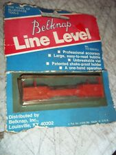 NOS VNTG BNIP BELKNAP LINE LEVEL T17-B3632LL BLUEGRASS TOOLS SURVEYOR MEASURING