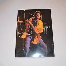 (ROLLING STONES) MICK JAGGER - 1988 JAPAN TOUR PROGRAMME