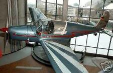 Ar-79 Aerobatic Arado Airplane Wood Model Big