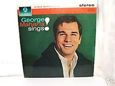 """George Maharis Sings 12"""" L.P 1962 / Stereo / EX"""