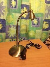 John Lewis Contact Touch Task Lamp, Chrome Rrp £35.00