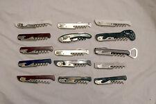 Lot Of 15 Franmara Italy TSA Confiscated Corkscrews Lot 216