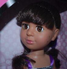"NEW  OOAK  12"" Toddler multi cultural Doll from designer's studio"