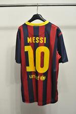 Barcelona Barca Home Stadium football shirt 2013 - 2014 #10 Messi size L