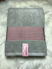 "Northpoint 3 Stripe Viscose Bath Towel 100/% Cotton 27/"" x 54/"""