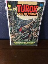 Silver-Age Comic TUROK SON OF STONE # 128 (1964 Whitman Comic) Spider Men Monkey