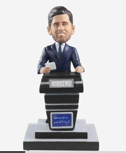 2021 Aaron Rodgers Bobblehead Jeopardy Guest Host Green Bay Packers NFL Rogers